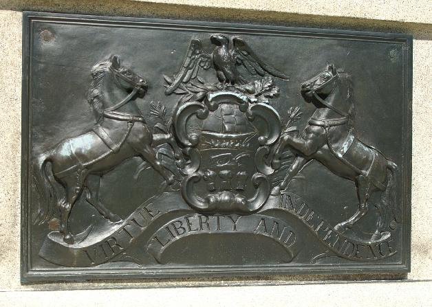 Pennsylvania soldiers monument top closeup image