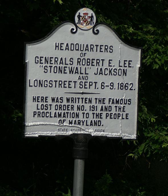 Stonewall Jackson sign image